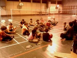 Séance d'entraînement Jeunes